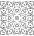 seamless geometric decorative pattern vector image vector image