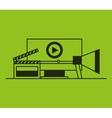 social media marketing icon vector image vector image