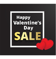 Valentines day promotion sale vector image vector image