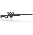 sniper rifle 02 vector image