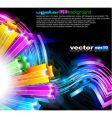3d digital art vector image vector image