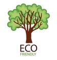 eco friendly environmental label vector image