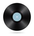 black vinyl disc vector image vector image