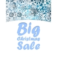 Christmas Big sale design template vector image