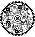 gear mechanism vector image vector image
