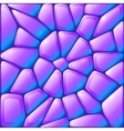 Glance violet rocks seamless pattern vector image