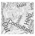 Image Consultants Can Help You Dress to Success vector image vector image