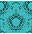 Seamless tile for orientl style wallpaper vector image