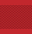background - brick red colore vector image