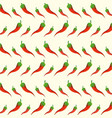 chilis background design vector image