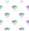 Color swatches icon in cartoon style isolated on vector image vector image