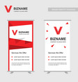 company ads banners with elegent design with vector image