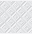 concept light gray geometry seamless pattern vector image vector image