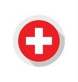 Flag of Switzerland vector image vector image
