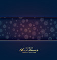 premium merry christmas background with text space vector image