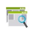 software programming concept icon vector image vector image