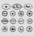 Tea logo 2 vector image vector image