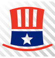 uncle sam hat eps icon vector image