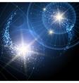 Cosmic Stars Background vector image