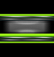 abstract green metal background