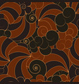 abstract japanese style seamless pattern vector image