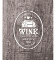 Barrel wine vector image vector image