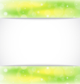 Eco light background with copy space vector image vector image