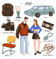 fashion and clothes furniture and objects 90s