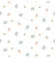 floral seamless pattern with tiny flowers and vector image vector image
