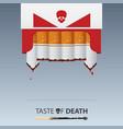 may 31st world no tobacco day no smoking day vector image vector image