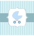Cute BABY BOY greeting card vector image