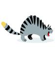 cute funny cartoon cat with feline vector image