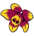 flower clip art vector image vector image