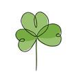 irish symbol st patrick vector image vector image