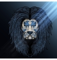Lion blue moon