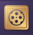 purple revolver cylinder icon isolated on vector image vector image