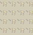 Sketch chai jewish symbol vector image