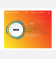 web page design templates vector image vector image