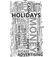 work at home moms save money this holiday season vector image vector image