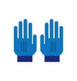 Mitten Gloves icon vector image