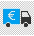 Euro Truck Eps Icon vector image vector image