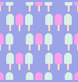 ice-cream pattern vector image