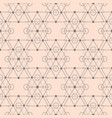 sacred geometry shapes seamless pattern vector image vector image