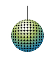 A view of ball vector image vector image