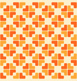 abstract trendy seamless pattern of geometric vector image vector image