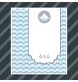 boy birthday card vector image