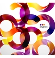 Colorful abstract swirl background vector | Price: 1 Credit (USD $1)