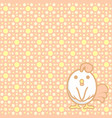 cute pastel background vector image vector image