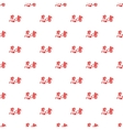 Japanese characters pattern cartoon style vector image vector image