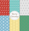 Merry Christmas Pattern Background vector image vector image